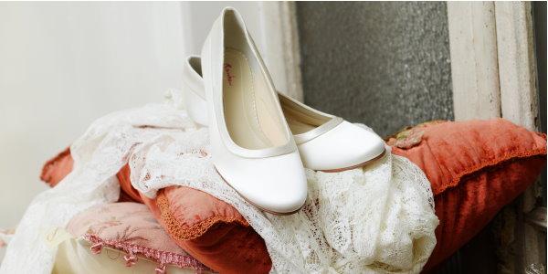 Brautschuhe aus der Kollektion Elsa Coloured Schuhe